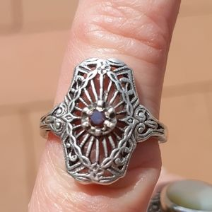 Jewelry - Pink diamond ring.